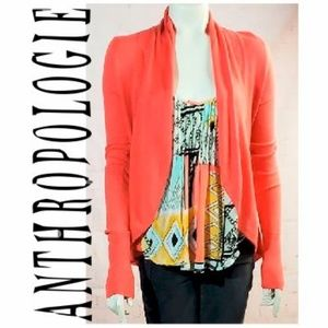 ANTHROPOLOGIE ANGEL OF THE NORTH CARDIGAN SIZE S